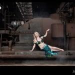 Fotoshoot met Inge Houwen